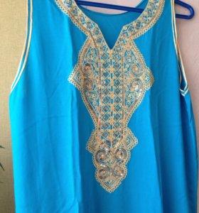 Платье-туника Х/Б-100 проц