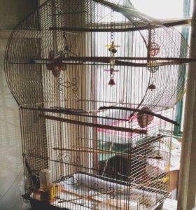 Клетка большая для птиц