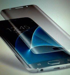 Плёнка 3D Samsung S6 Edge S7 Edge g920 g935