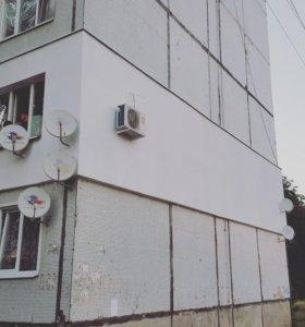 Утепление стен,фасадов снаружи