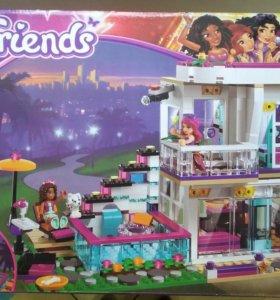 Лего конструктор friends подружки аналог дом Ливи