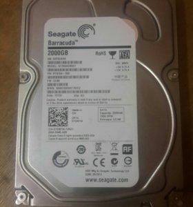 Жёсткий диск Seagate Barracuda 2 tb