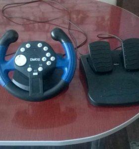 Игровой руль для начинающих водителей