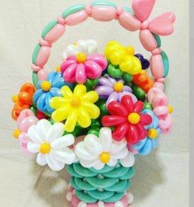 Шарики,цветочки