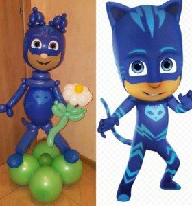 Гелиевые шарики, фигуры из шаров