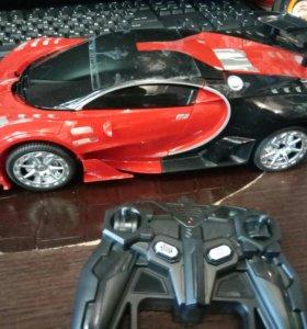 Радиоуправляемая машина трансформер Bugatti