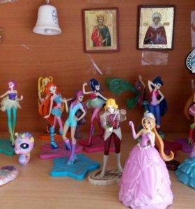 Куклы винкс колекционные