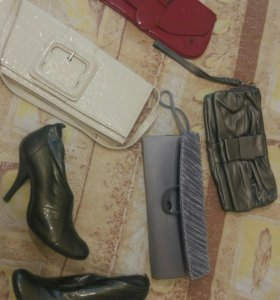 Клатчи ботинки