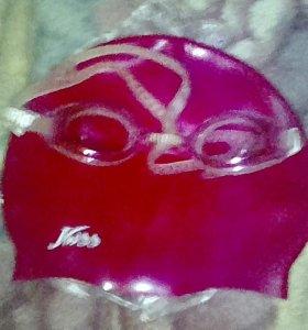 Шапочка и очки для бассейна