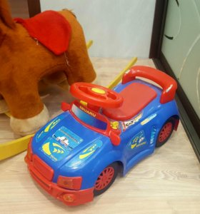 Лошадь-качалка +машина