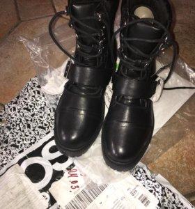 Ботинки 41размер