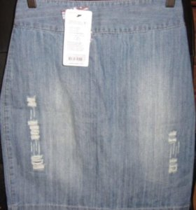 Джинсовая юбка 36 размер