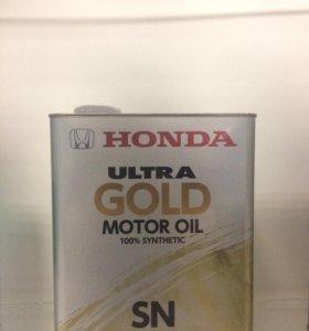 Масло Honda Ultra Gold 5w40 4l