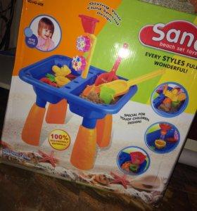 Песочница столик 2-1