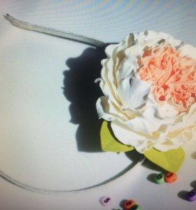 Цветы из фоамирана ручной работы