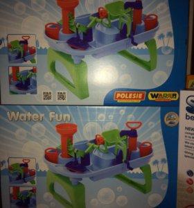 Столик для игры с водой