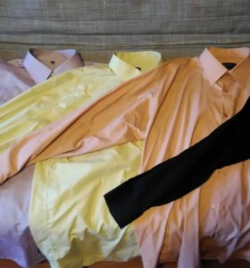 Рубашки мужские бу