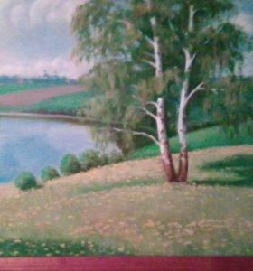 Картина маслом автор не известен