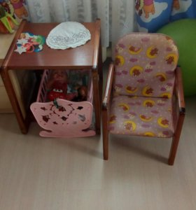 Стол,стул для маленьких