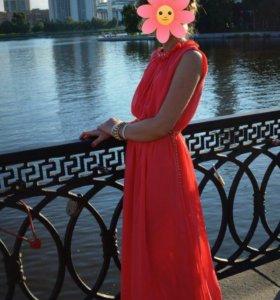 Платье в пол 42-44