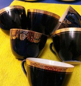 Чашки, блюдца, чайные пары ЛФЗ