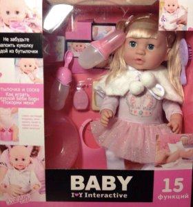 Кукла новая интерактивна Beby Toby аналог Beby bo