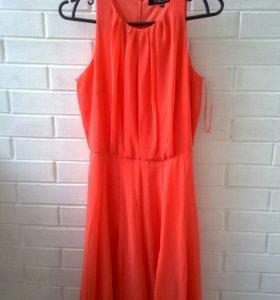 Платье на подкладе 44-46 размер