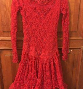 Бально-спортивное платье D1, длинна 65 см