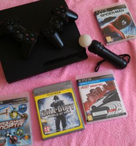 PlayStation 3 + 5 игр