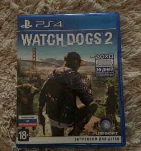 Игра Ps4 Watch dogs 2