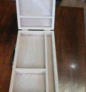 Художественный ящик для акварели