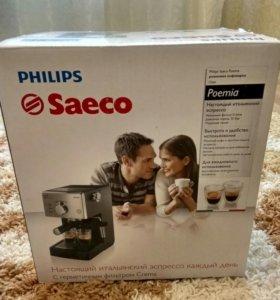 Итальянская кофемашина Philips Saeco HD 8325/79