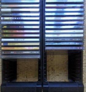 Стойки по CD с дисками