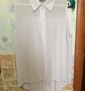 Блузка белая, 450рублей