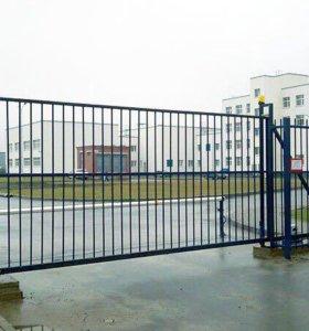 Откатные ворота, металлоконструкции