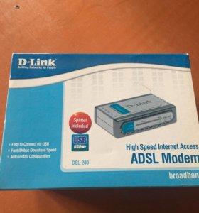 Adsl modem d-link