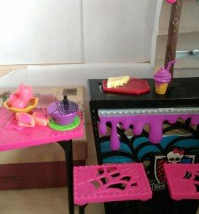 Куклы и мебель монстер хай