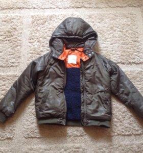 Куртка детская Mango на мальчика рост 128-135