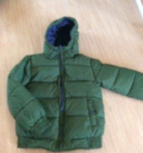 Куртка (двусторонняя)новая