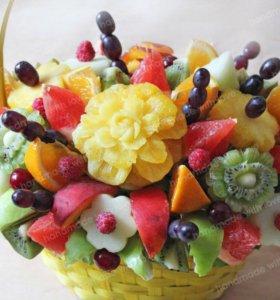 Букет из фруктов, оригинальный подарок