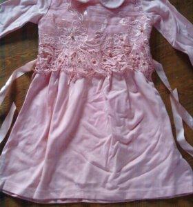 Платье на 5 лет 89244212915