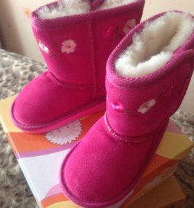 Сапоги зимние для девочек