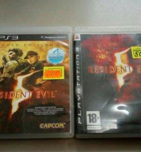 Sony 3 Resident Evil