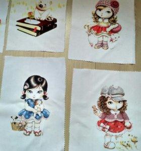 Печать на ткани сублимация