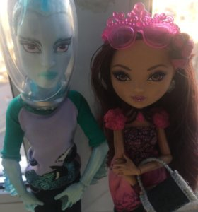 Куклы monster high и ever after high