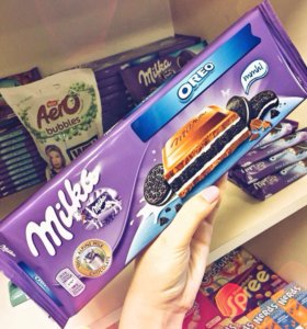 Milka&Oreo 300 грамм