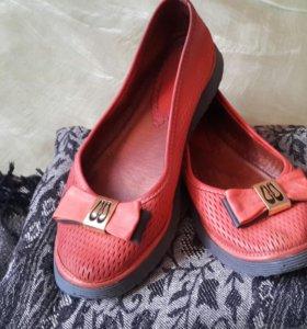 Туфли  кожа срочно