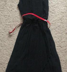 Платье гафрированное XS-S