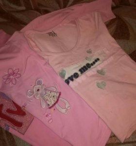 Вещи пакетом для девочки 4-5 лет.