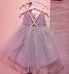 Платье на 4-6